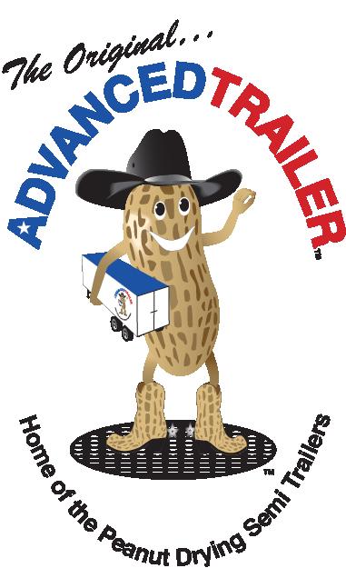 Advance Trailer peanut drying trailer logo