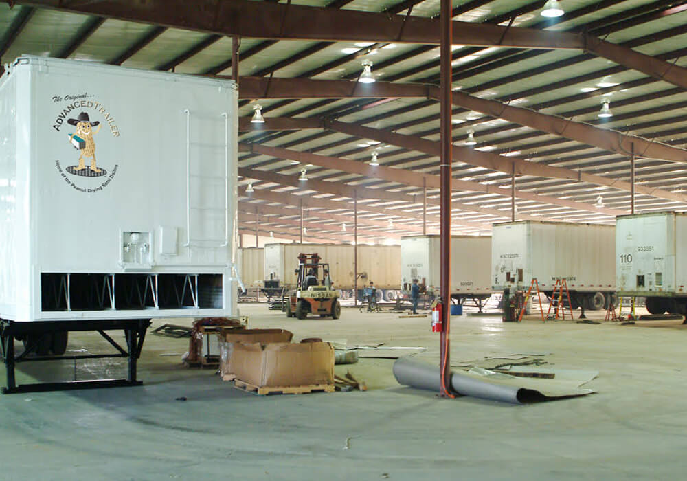 Advance Trailer peanut drying trailers